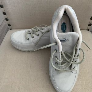 Rockport white sneakers size 7